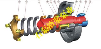 泵型号:3/2c-ah 渣浆泵厂家,橡胶渣浆泵产品说明:   橡胶渣浆泵结构
